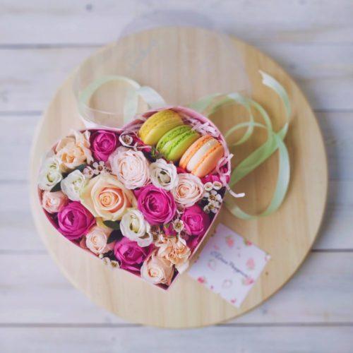 Цветы & MACAROONS