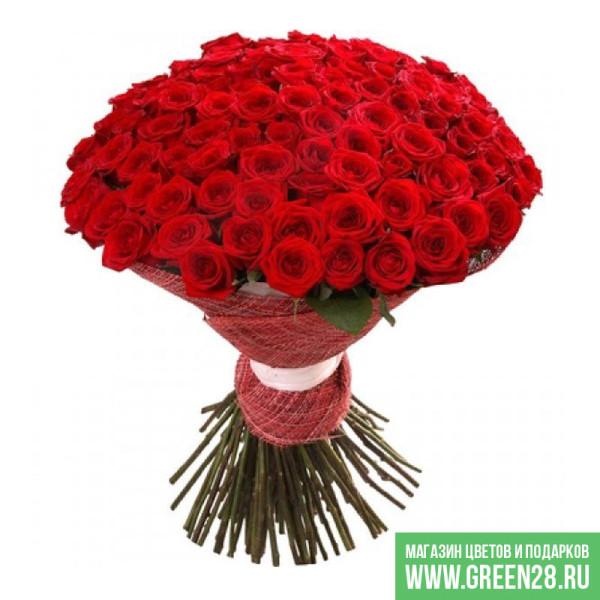 Букет из 101 красной розы (thumb)