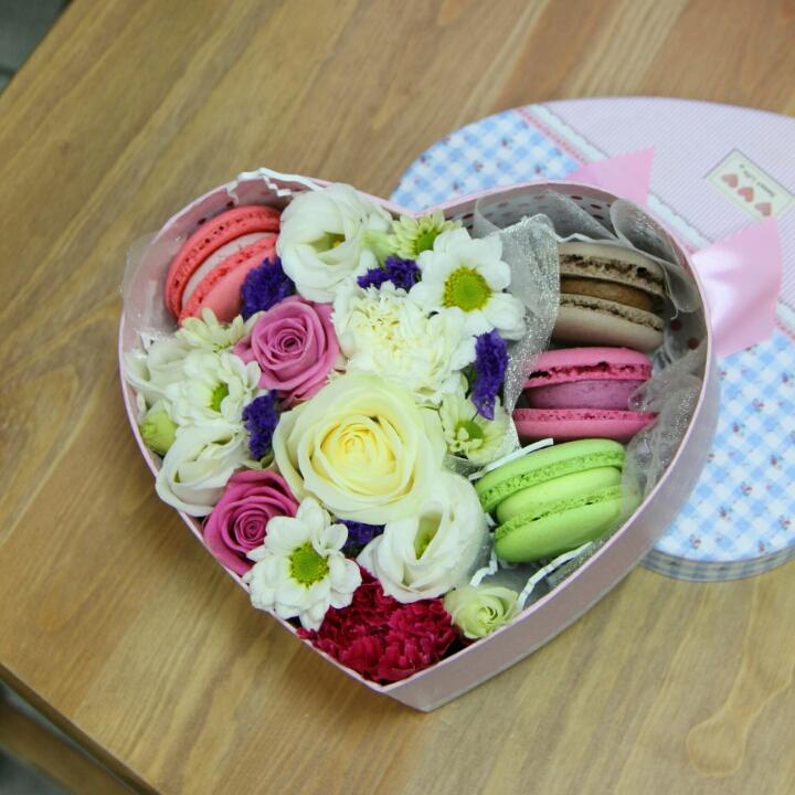 Цветы в коробках с макаронами своими руками