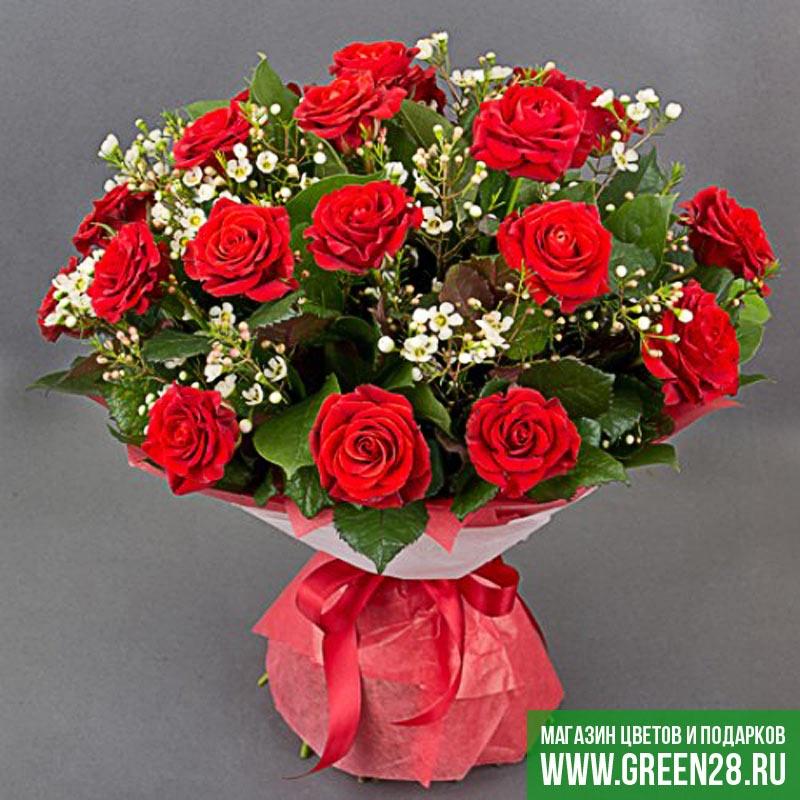 Букет из роз «Коррида»