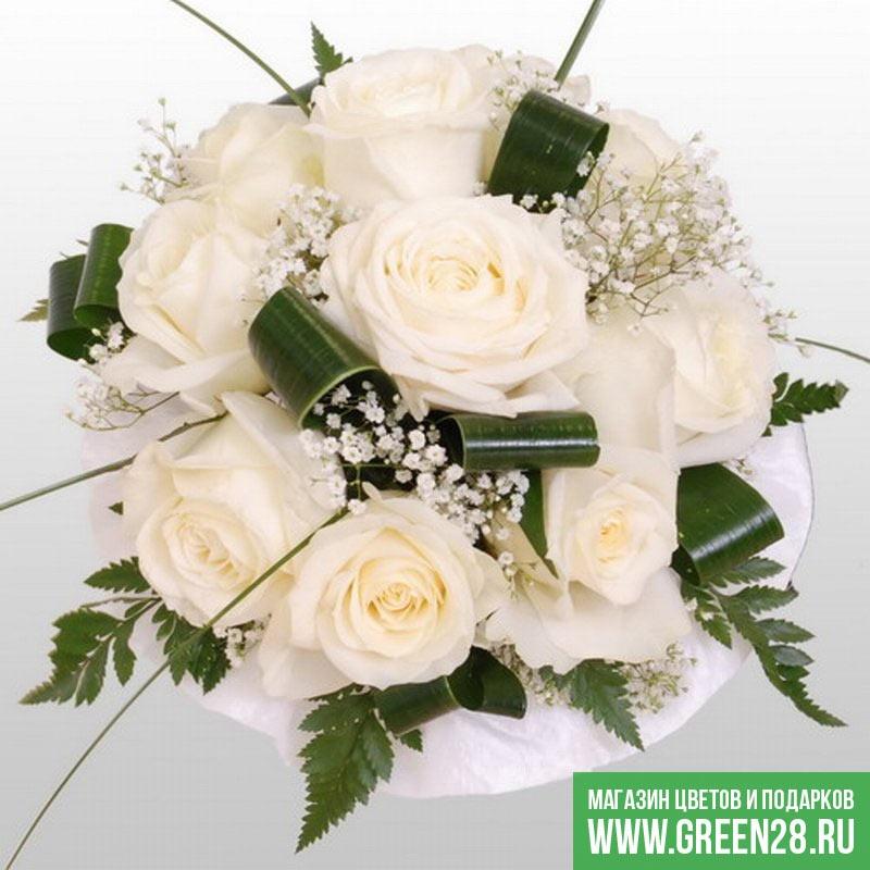 Букет невесты «Белоснежка»